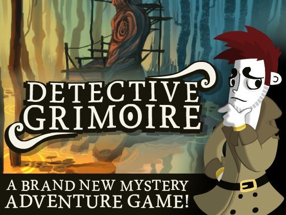 Detective Grimoire Kickstarter and Trailer!