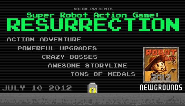 Robot Day game: RESURRECTION