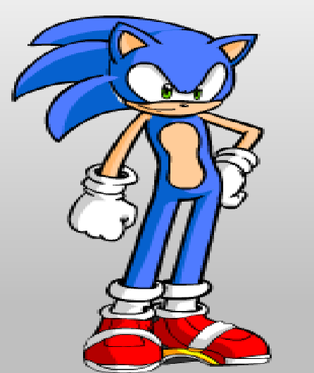 new fake sonic game art soon