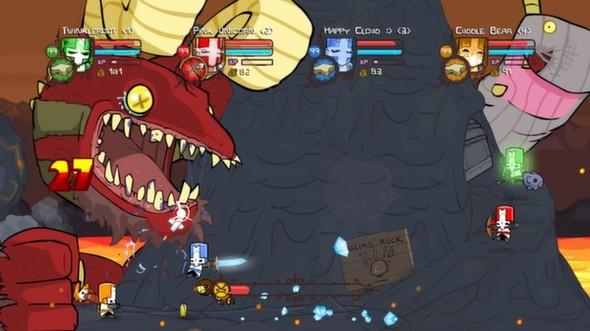 Castle Crashers Steam: September 26!