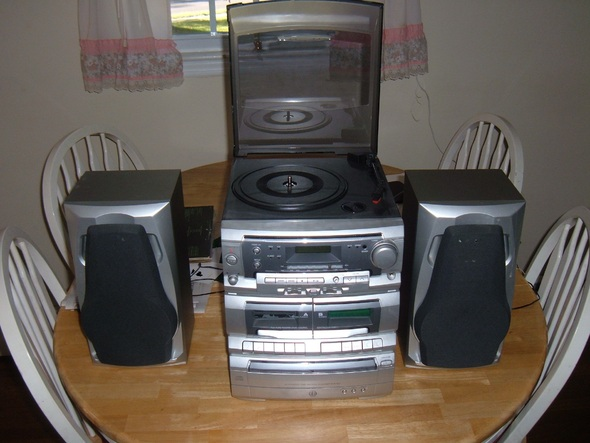 New Stereo.