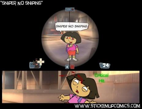 TF2 vs. Dora the Explorer!
