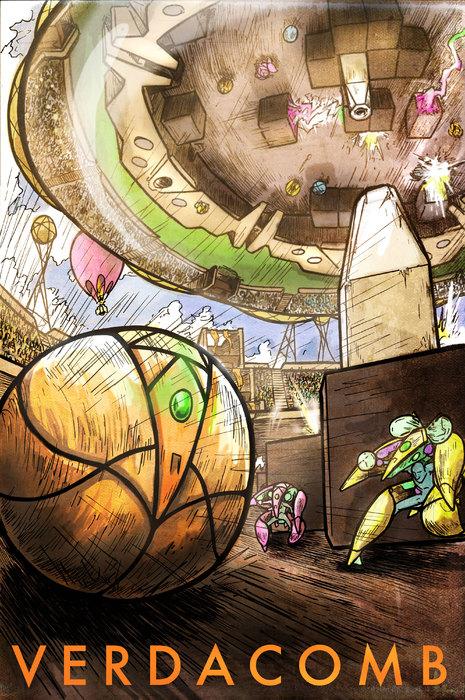 VERDACOMB, the Graphic Novel: Progress UPDATE