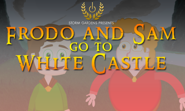 Frodo and Sam go to White Castle