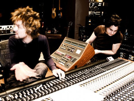 The Raconteurs are currently finishing up their second album.