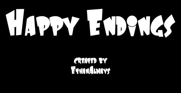New cartoon I made!!!! Happy Endings!