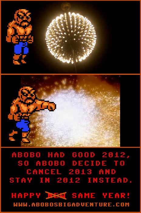 How Abobo Celebrated New Year's Eve.