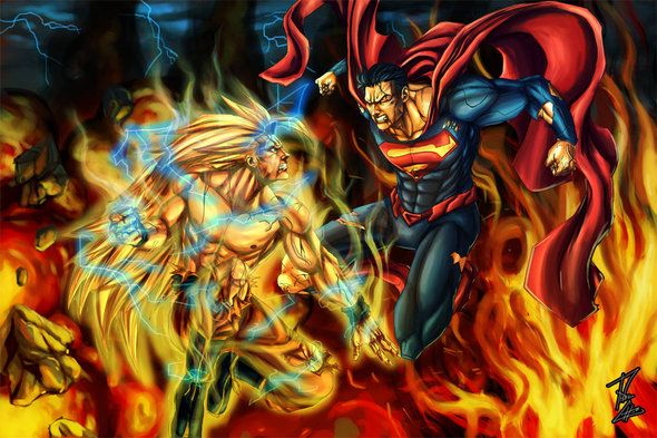 GOKU vs SUPERMAN - *(finally, we can stop arguing about it)