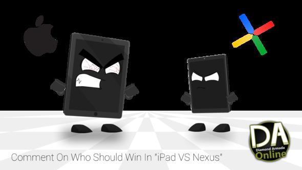 'Let's Play' Guest, Future Scripts, and iPad VS Nexus