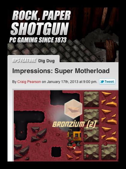 Rock Paper Shotgun: Favourable First Impressions