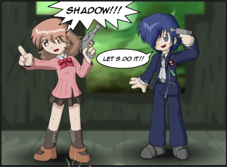 Second try at VG comics, Persona 3