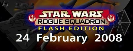 1 week till Star Wars Rogue Squadron flash game launch!