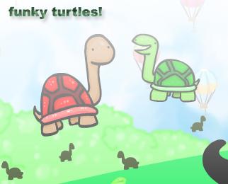 New Flash: Funky Turtles