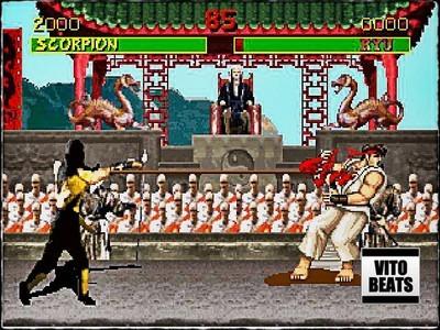 FIGHTERS DELIGHT (MK vs SF RMX) PROD BY VITO BEATS