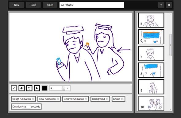 I made a storyboarding and progress tracking webapp