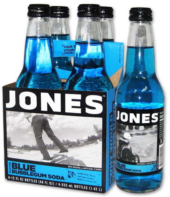 Blue Bubblegum Jones Soda
