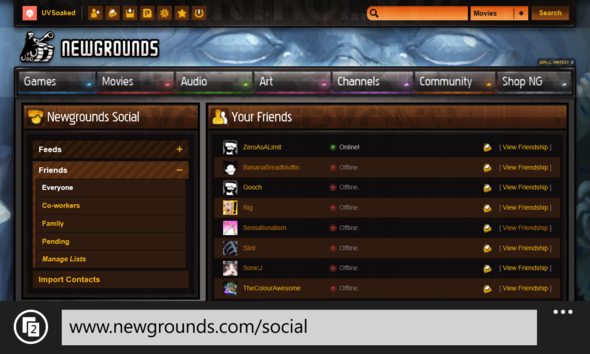 Newgrounds Mobile?