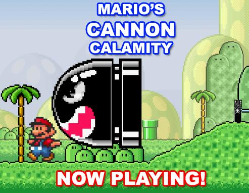 New Flash: Mario's CANNON Calamity!