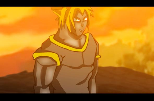 2D Flash Animation project