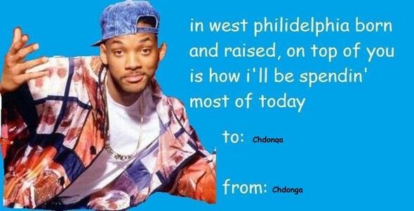 Chdonga, be my valentine