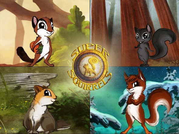 SUPER SQUIRRELS