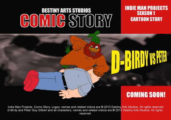 Destiny Arts Studios - Cartoon Story Q-Birdy vs Peter
