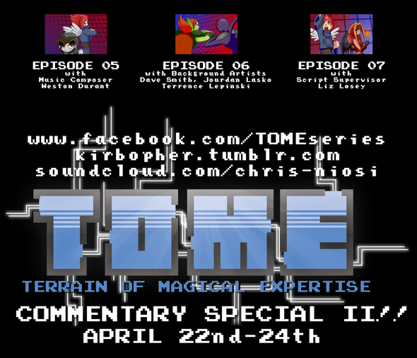 TOME Episode 07 Released + Announcements coming soon!