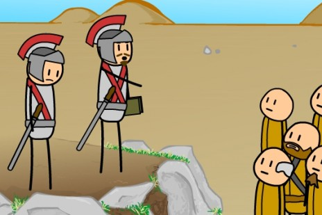 New Cyanide and Happiness short: Spartacus!