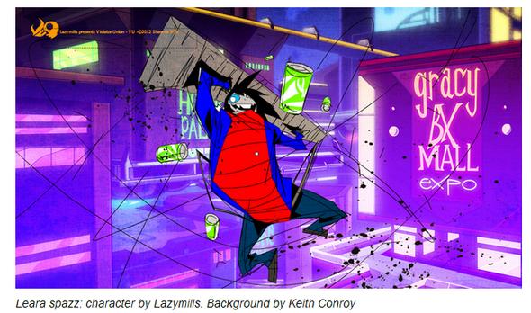 Violator Union: The Comic by Lazymills