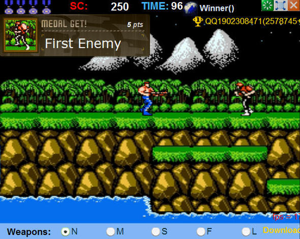 Classic Game: Contra 25th Anniversary