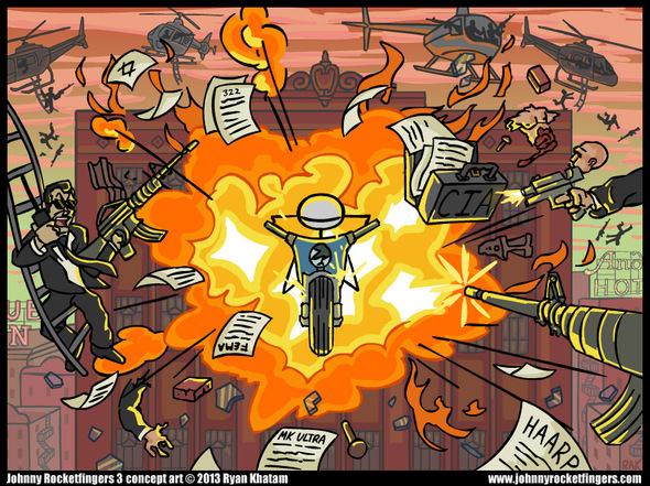 Johnny Rocketfingers 3 Art