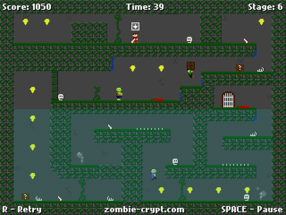 Zombie Crypt 3 screenshots released!
