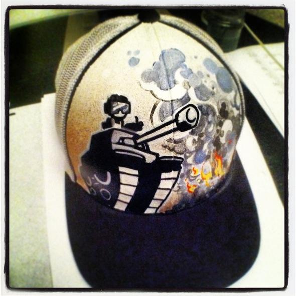 Custom NG Hat