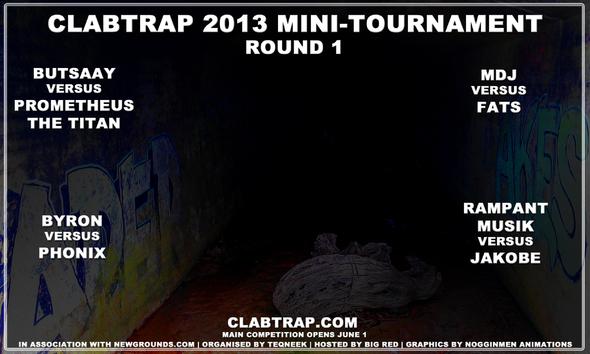Clab'13 Mini Tourney Round One