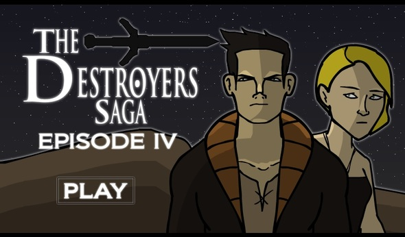 DESTROYERS SAGA IV IS LIVE