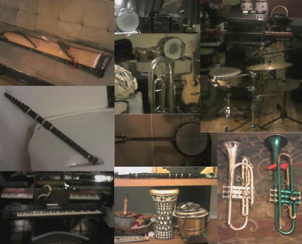 Movie shooting, studio recordings, music gigs and school stuff
