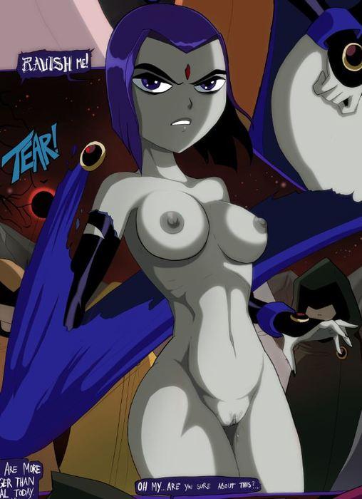 Free Teen Titans Starfire Raven Futa Comic