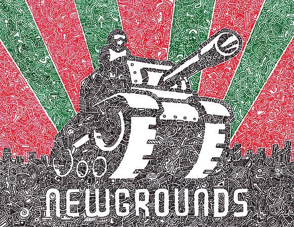 I drew a newgrounds