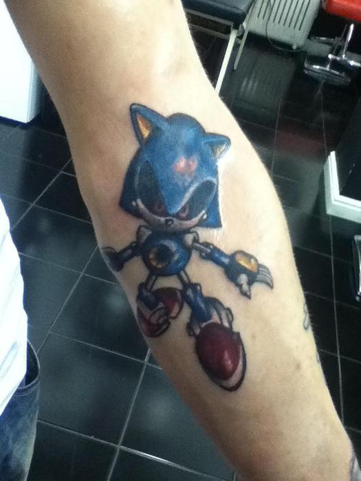 More sonic tattoos!
