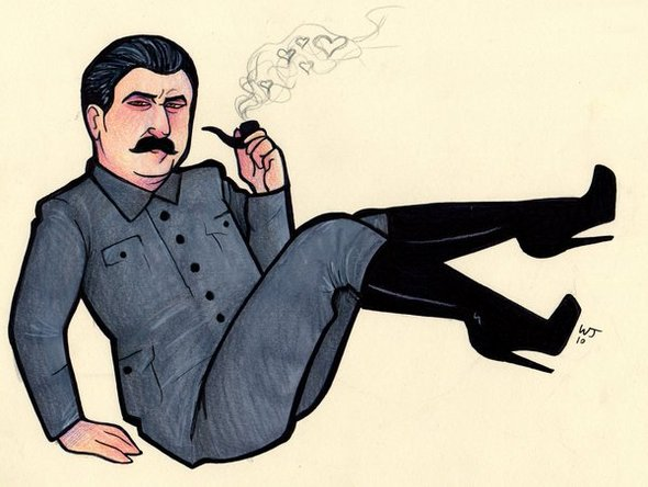 Making a Semi-Serious Song about Stalin