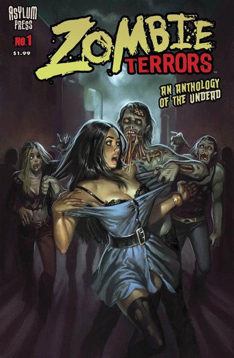 ASYLUM PRESS ANNOUNCES ZOMBIE TERRORS AS A DIGITAL COMIC SERIES ON IPAD, IPHONE, ANDROID, PC/MAC & KINDLE FIRE