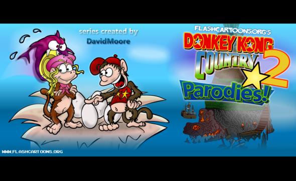 Donkey Kong Country 2 Parodies!