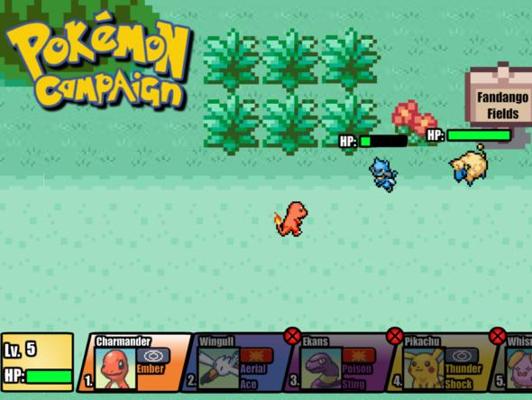 Pokemon Campaign Demo 0.3