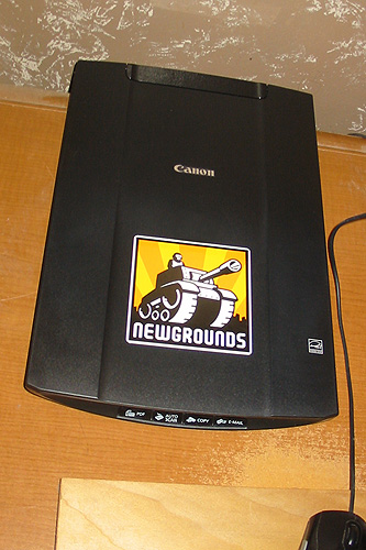 Woohoo! Finally got a scanner!