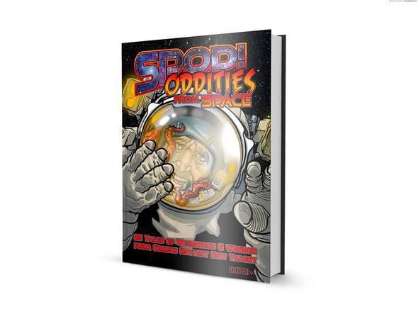Oddities From Space comic Kickstarter