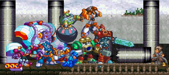 Mega Man : Origin of X Part II Update #1