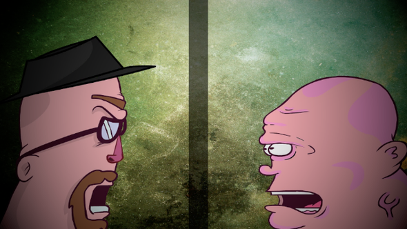I made a toon about how Breaking Bad will end!