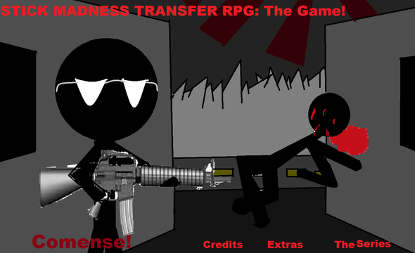 SMTRPG The Game: Main Menu