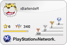 Oh and I have 300 bronze trophies on PSN now