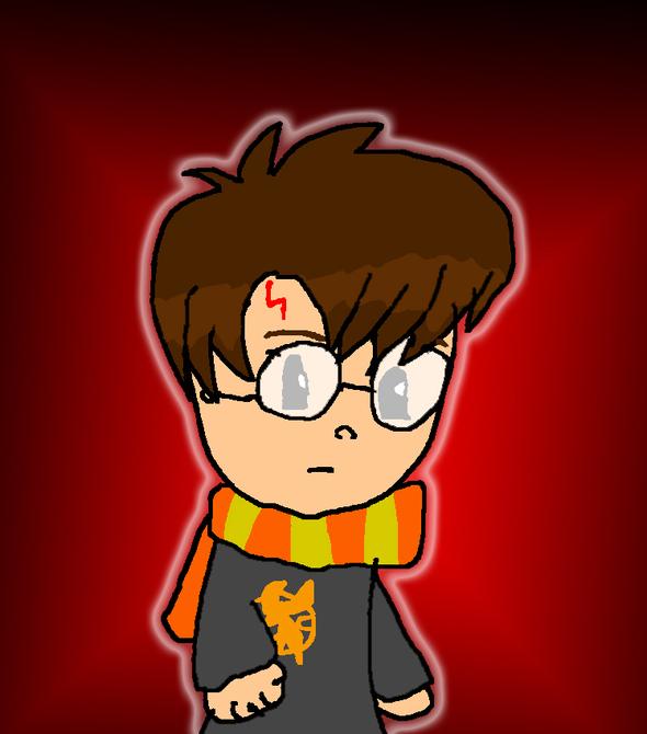 Harry Potter with Mockinjay